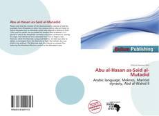 Capa do livro de Abu al-Hasan as-Said al-Mutadid