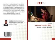 Borítókép a  L'éducation des filles - hoz