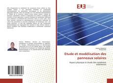 Обложка Etude et modélisation des panneaux solaires