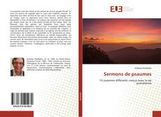 Bookcover of Sermons de psaumes