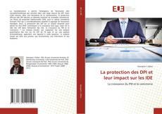 Buchcover von La protection des DPI et leur impact sur les IDE