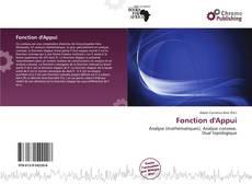 Fonction d'Appui的封面