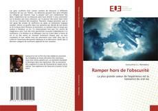 Bookcover of Ramper hors de l'obscurité