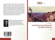 Capa do livro de Les limites du partenariat durable. Partie IV