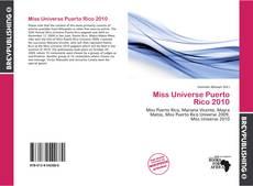 Miss Universe Puerto Rico 2010的封面