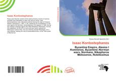 Bookcover of Isaac Kontostephanos