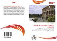 Обложка Isaac Komnenos (Son of John II)