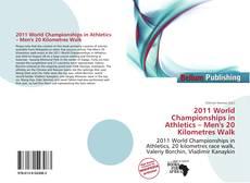 2011 World Championships in Athletics – Men's 20 Kilometres Walk kitap kapağı