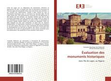 Couverture de Évaluation des monuments historiques