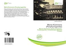 Bookcover of Maria Komnene (Porphyrogenita)