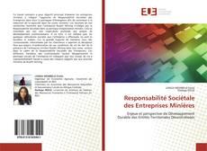 Buchcover von Responsabilité Sociétale des Entreprises Minières