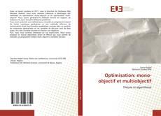 Обложка Optimisation: mono-objectif et multiobjectif