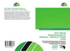 Bookcover of 2011 World Championships in Athletics – Women's Triple Jump