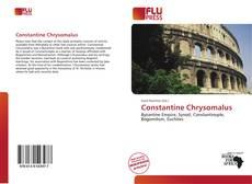 Borítókép a  Constantine Chrysomalus - hoz