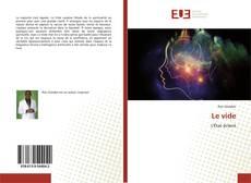 Bookcover of Le vide