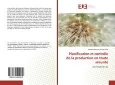 Copertina di Planification et contrôle de la production en toute sécurité