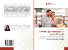 Capa do livro de L'affichage numérique au point de vente