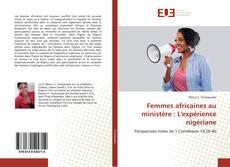 Buchcover von Femmes africaines au ministère : L'expérience nigériane