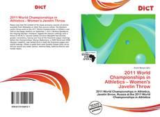 Portada del libro de 2011 World Championships in Athletics – Women's Javelin Throw