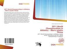 Portada del libro de 2011 World Championships in Athletics – Men's Javelin Throw