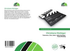Couverture de Christiane Hörbiger