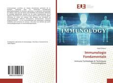 Bookcover of Immunologie Fondamentale