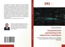 Capa do livro de Comportement asymptotique des expériences statistiques