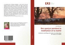 Bookcover of Des aperçus pendant la méditation et la réalité