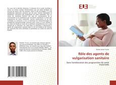 Copertina di Rôle des agents de vulgarisation sanitaire