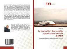 Buchcover von La liquidation des sociétés coopératives en droit OHADA