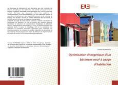 Обложка Optimisation énergétique d'un bâtiment neuf à usage d'habitation