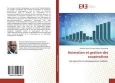 Animation et gestion des coopératives kitap kapağı