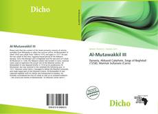 Bookcover of Al-Mutawakkil III