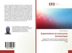 Capa do livro de Exportations et croissance économique