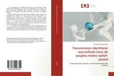 Buchcover von Transmission identitaire aux enfants issus de couples mixtes wolof-picard