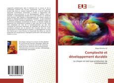 Couverture de Complexité et développement durable