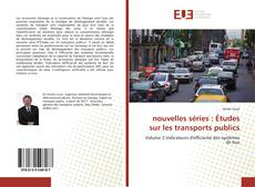 Обложка nouvelles séries : Études sur les transports publics