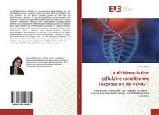 Bookcover of La différenciation cellulaire conditionne l'expression de NDRG1