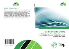 Bookcover of Battle of Sirte (2011)