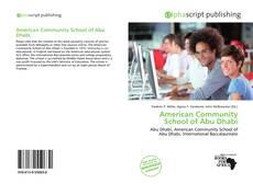 Portada del libro de American Community School of Abu Dhabi