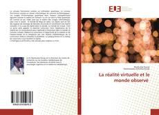 Portada del libro de La réalité virtuelle et le monde observé