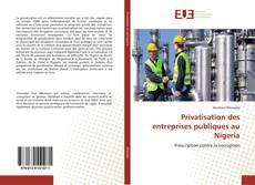 Обложка Privatisation des entreprises publiques au Nigeria