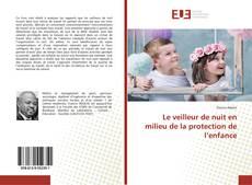 Bookcover of Le veilleur de nuit en milieu de la protection de l'enfance