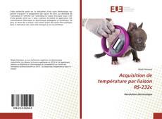 Acquisition de température par liaison RS-232c kitap kapağı