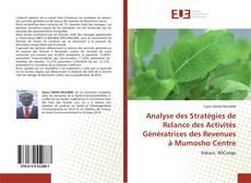 Bookcover of Analyse des Stratégies de Relance des Activités Génératrices des Revenues à Mumosho Centre