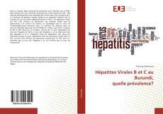 Обложка Hépatites Virales B et C au Burundi, quelle prévalence?