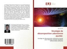 Bookcover of Stratégie de décomposition adomienne ajustée