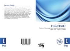 Обложка Lynton Crosby