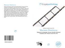 Bookcover of Mariana Dimitrova