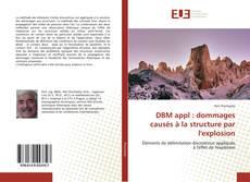 Bookcover of DBM appl : dommages causés à la structure par l'explosion
